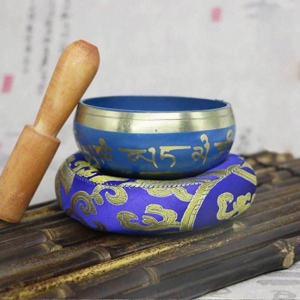 Bol Tibétain - Bleu