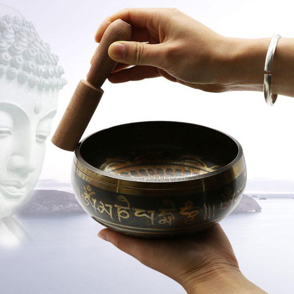 Bol De M Ditation Chakra Martel La Main Plats Muraux D Coratifs Yoga Bol De Chant 2