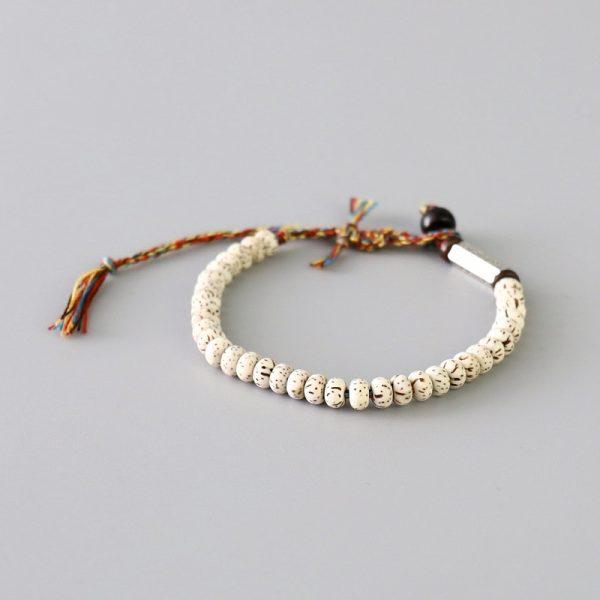 Bracelet Tibétain Tressé à La Main 2