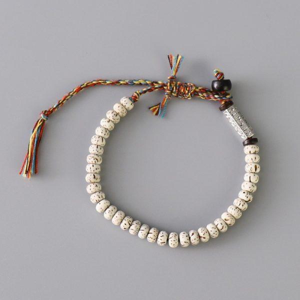 Bracelet Tibétain Tressé à La Main 3