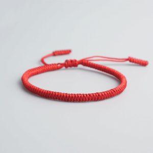 Bracelet de la chance – Uni – Rouge