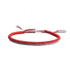 Bracelet de la chance – Tressé Bicolore