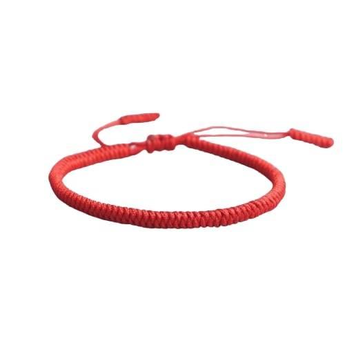 Bracelet De La Chance Uni Rouge