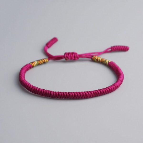 Bracelet De La Chance Bordeaux