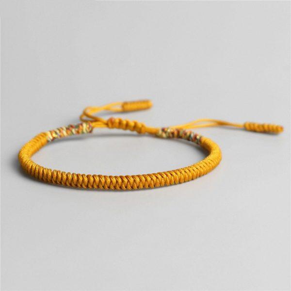 Bracelet De La Chance Jaune