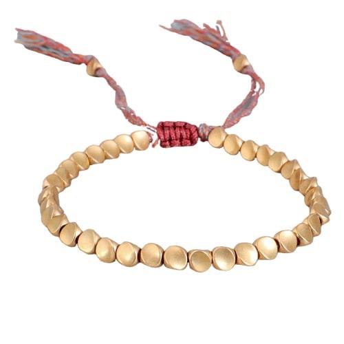 Bracelet Tibétain Perles De Cuivre