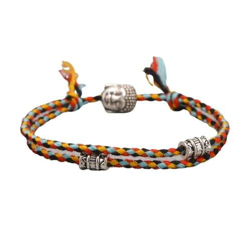 Bracelet Tibétain Tête De Bouddha