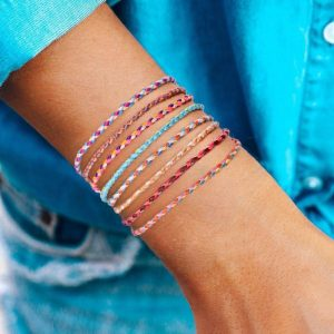 Bracelet Tibétain Multicolore – Porte-Bonheur