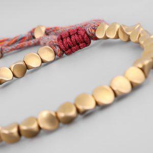 Bracelet Tibétain – Perles de cuivre
