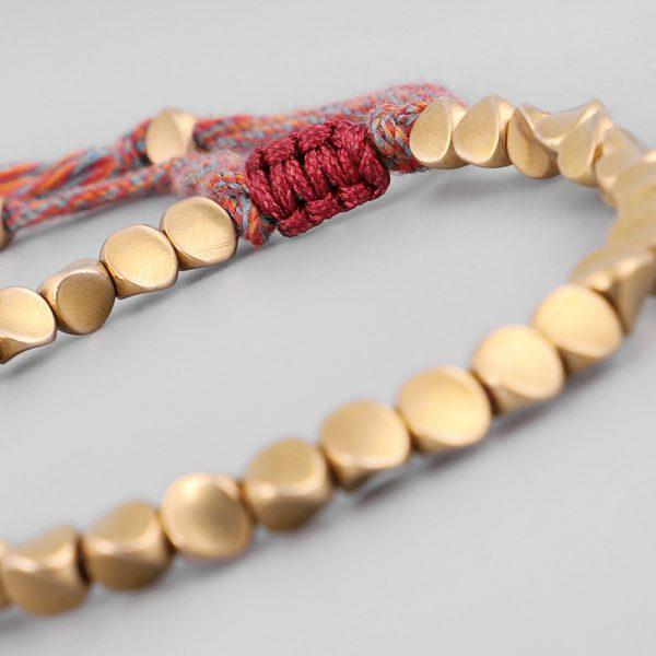 bracelet tibetain cuivre