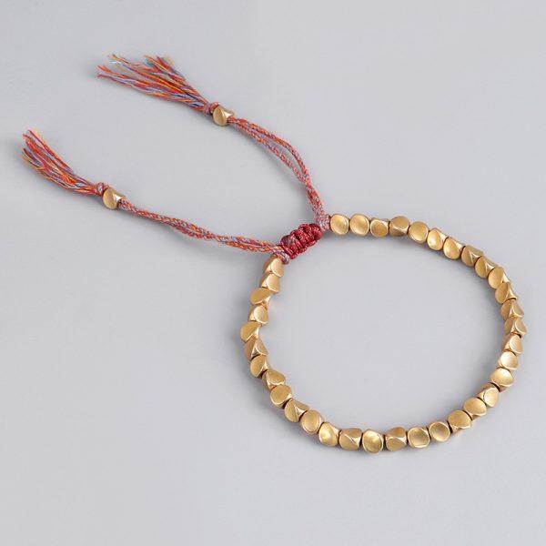 bracelet tibétain cuivre signification
