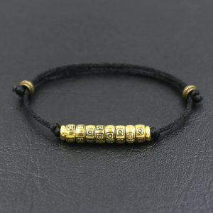 Bracelet de la chance – Noir | Rouge – Noir