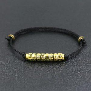 Bracelet de la chance – Noir – Noir