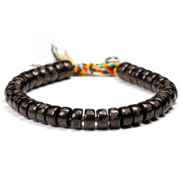 Bracelet Tibétain - Perles sculptées