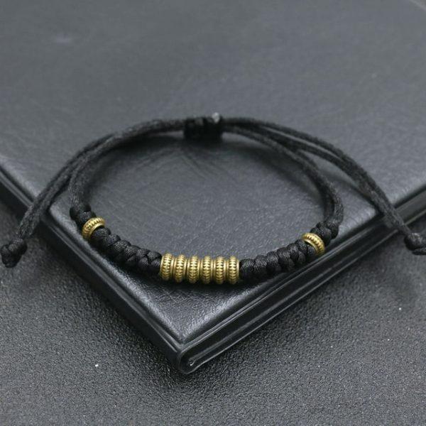 Tib Tain Ethnique Or Perles Tresse Bracelet Breloques Corde Rouge R Glable Chakra Bracelets Pour Femme 1.jpg 640x640 1