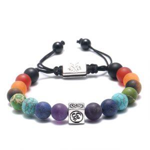 Bracelet 7 chakras – Om̐