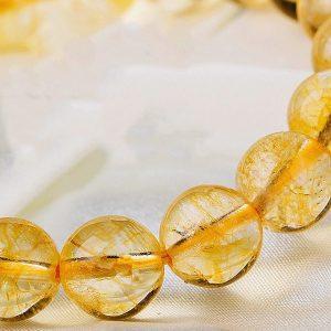 Bracelet chakra pierre plexus solaire