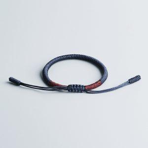 Bracelet tibétain tressé