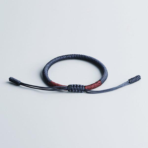 Bracelet De Corde Chanceux Bouddhiste Tib Tain Fait La Main Hommes Fid Lit Noeuds Bouddhistes Tib 1