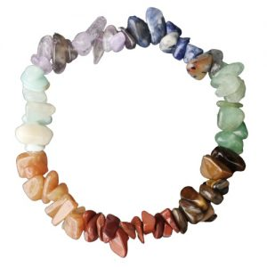 Bracelet 7 chakras pierres naturelles