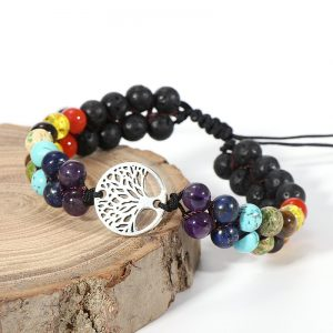 Bracelet 7 chakras guérison