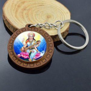 Porte-clés Bouddha – Dessin artistique