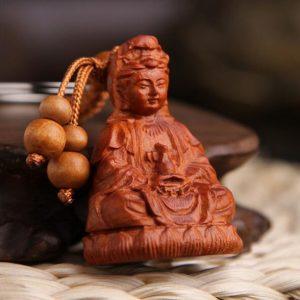 Porte-clés Bouddha – Guanyin