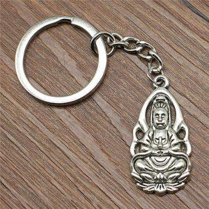 Porte-clés Bouddha – Multi pendentifs