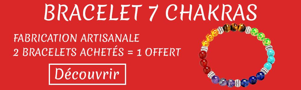 Banniere Bracelet 7 Chakras
