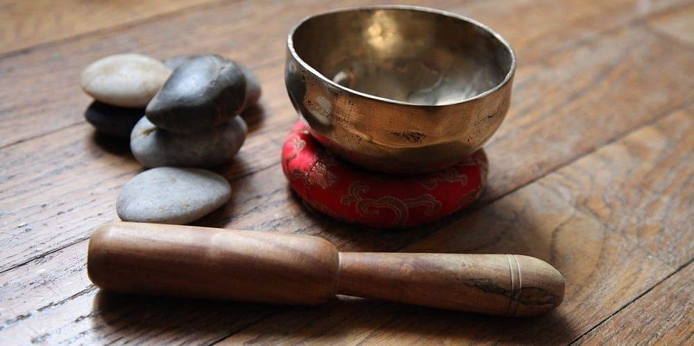 Bol Tibetain Avec Eau