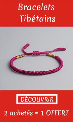 Bracelet Tibetain Banniere