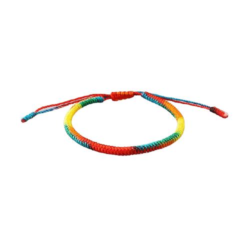 bracelet tibetain multicolore