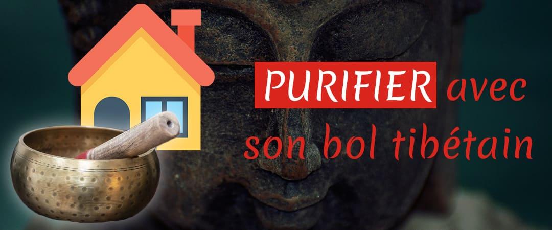 Purifier sa maison ou ses pierres avec un bol tibétain