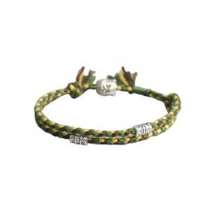 Bracelet Tibétain fait main – Vert