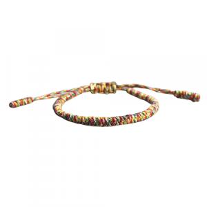 Bracelet de la chance – Tressé – Multicolore