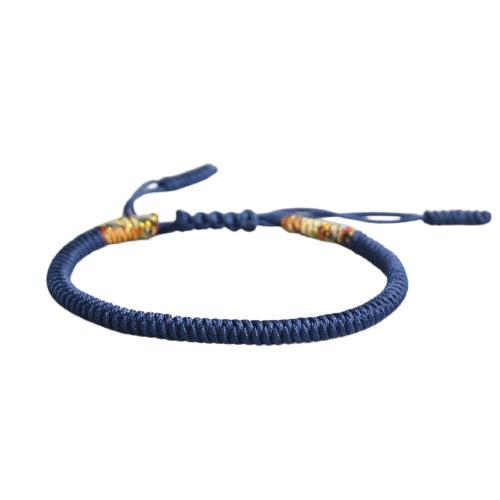 bracelet de la chance bleu