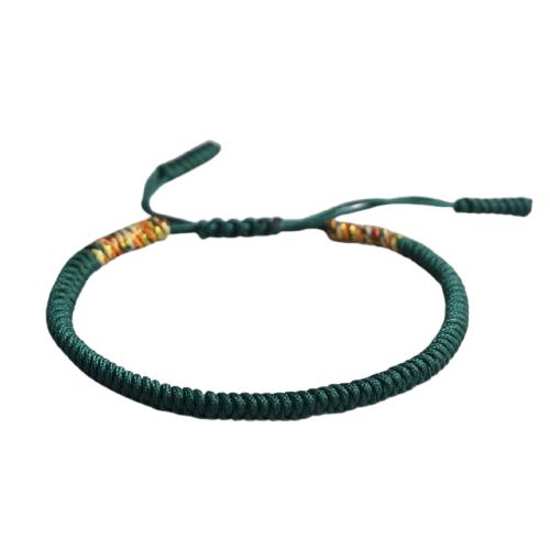bracelet de la chance vert