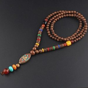 Collier tibétain ancien