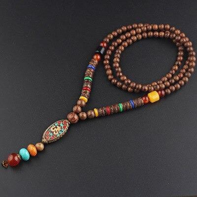 ancien collier du tibet