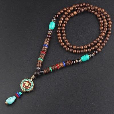 collier du tibet vintage