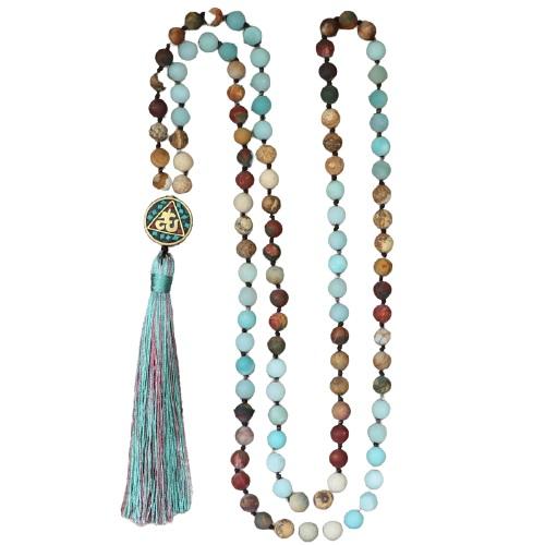 collier mala tibet