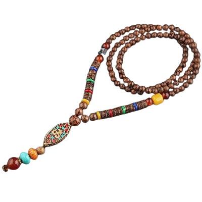 collier tibetain ancien