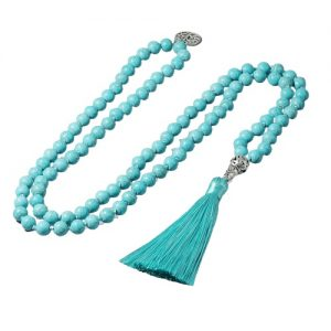 Collier tibétain turquoise