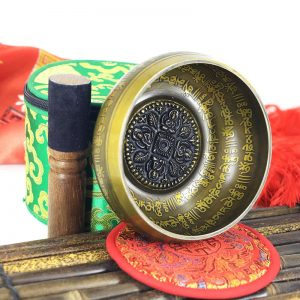 Bol Tibétain gravé