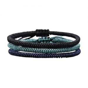 Bracelet Tibétain en corde