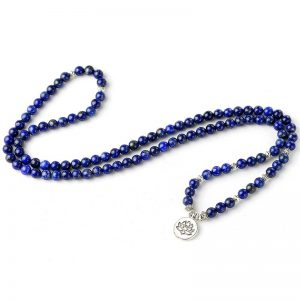 Mala tibétain lapis-lazuli
