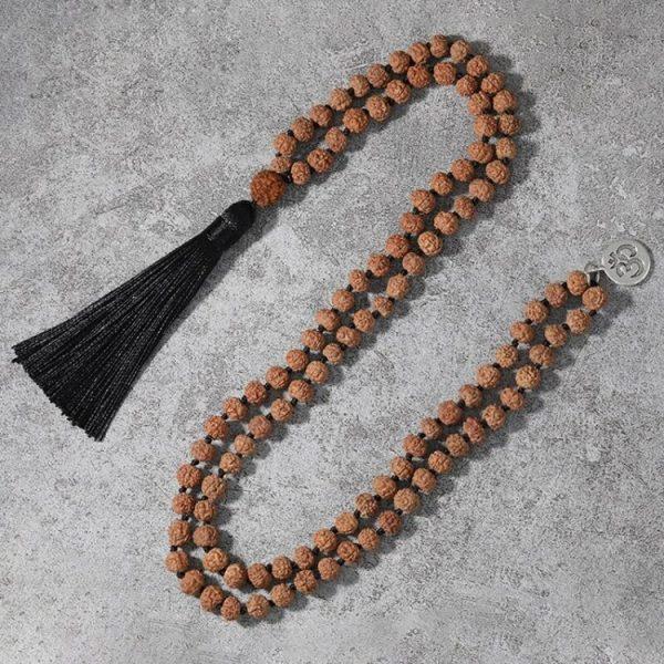 mala tibetain graine rudraksha